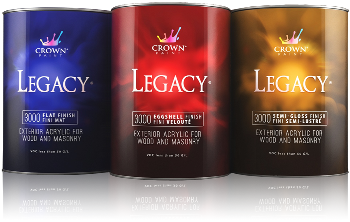 Legacy Top Coats Paint Products